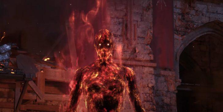 炎をまとった巨人が登場。これはジョシュアの変わり果てた姿なのか、それとも他の何か……?