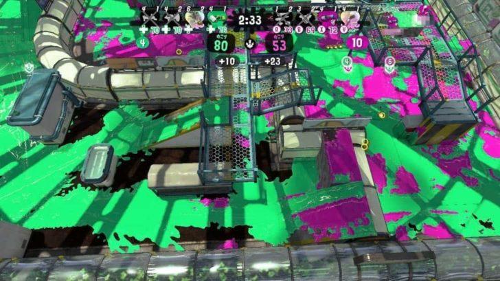 見下ろしカメラ使用時は、ZRボタンでズームON/OFF、Lスティックでズーム中移動、Rスティックでズーム中回転など自由に操作可能