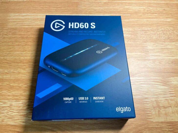 キャプチャーボード Elgato HD60 S